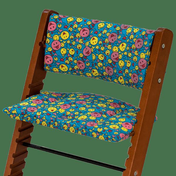 """Чехол для растущего стула """"Смайлики"""""""