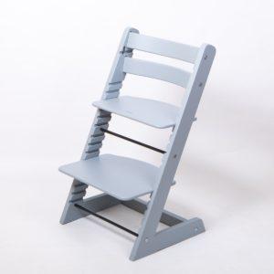 растущий стул цвет Серебристо-серый
