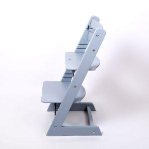 """Растущий стул - """"серебристо-серый"""" от Мастерской Феникс."""