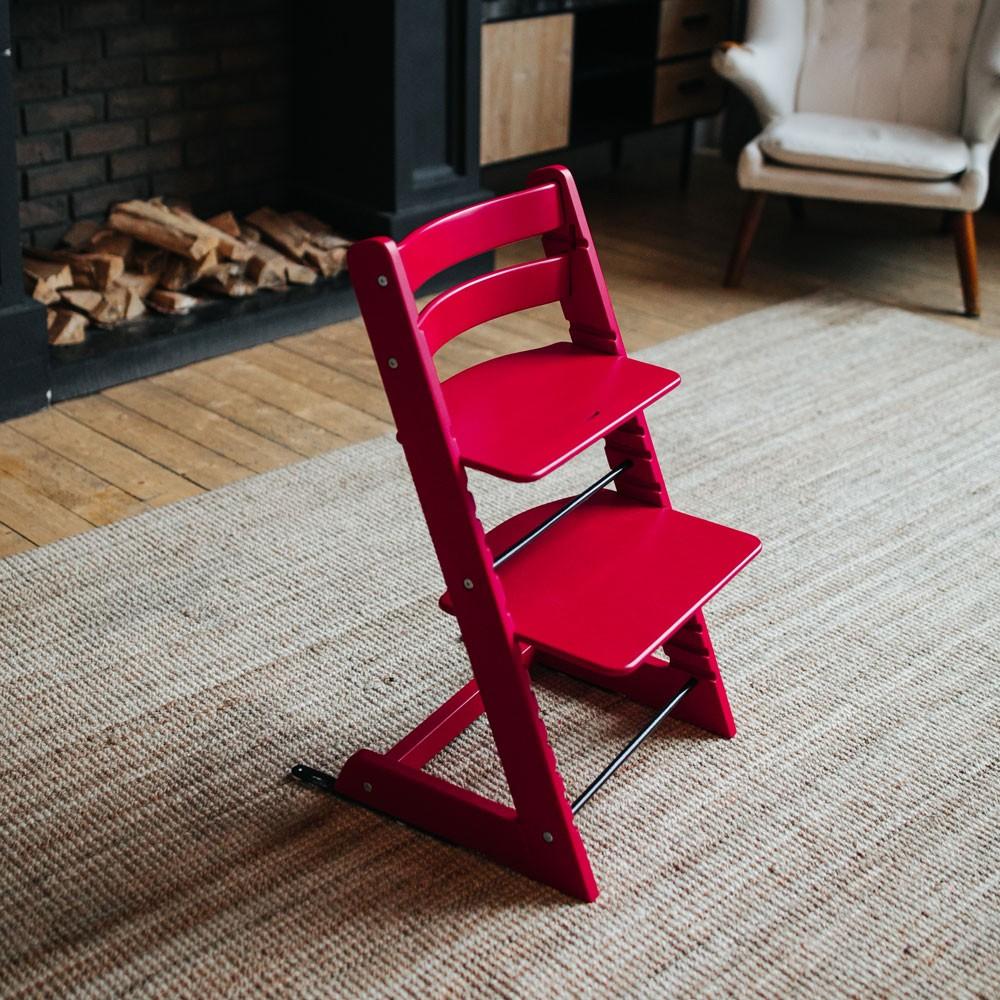Растущий стул Мастерская Феникс Красный
