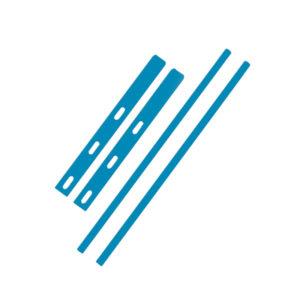 В цвет стула — Голубая